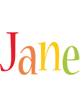 Jane birthday logo