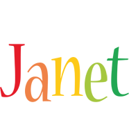 Janet birthday logo