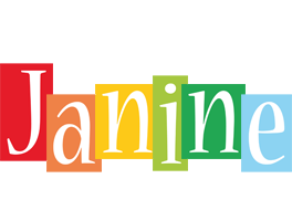 Janine colors logo