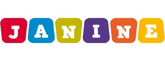 Janine kiddo logo