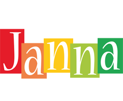 Janna colors logo