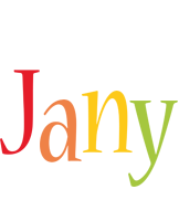 Jany birthday logo