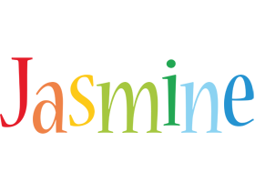 Jasmine birthday logo