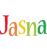 Jasna birthday logo