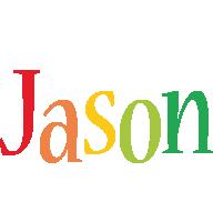Jason birthday logo