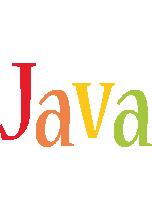 Java birthday logo