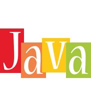 Java colors logo