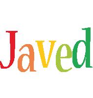 Javed birthday logo