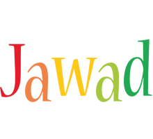 Jawad birthday logo
