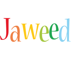 Jaweed birthday logo
