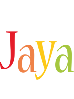Jaya birthday logo