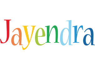 Jayendra birthday logo