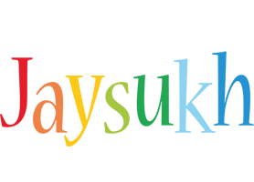 Jaysukh birthday logo