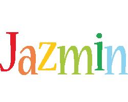 Jazmin birthday logo