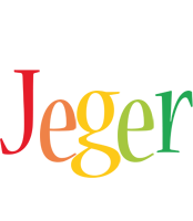 Jeger birthday logo
