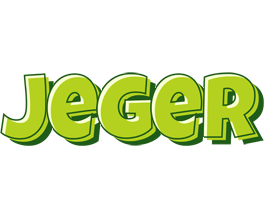 Jeger summer logo