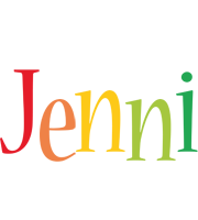 Jenni birthday logo