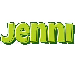 Jenni summer logo