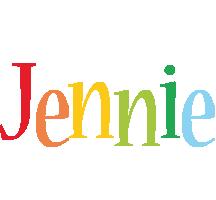 Jennie birthday logo