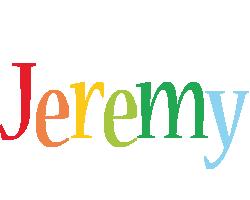 Jeremy birthday logo