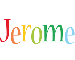 Jerome birthday logo
