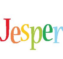 Jesper birthday logo