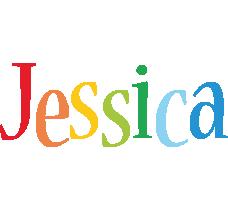 Jessica birthday logo