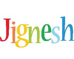 Jignesh birthday logo