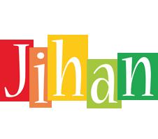 Jihan colors logo