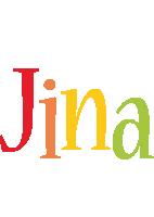 Jina birthday logo