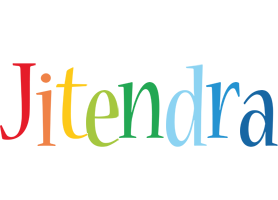 Jitendra birthday logo