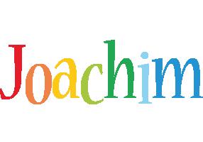 Joachim birthday logo