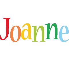 Joanne birthday logo