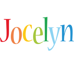Jocelyn birthday logo