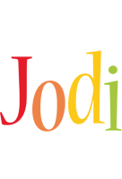 Jodi birthday logo