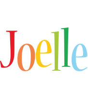 Joelle birthday logo