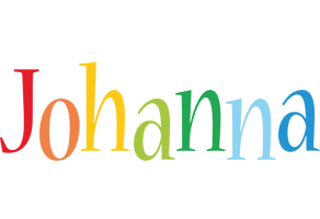 Johanna birthday logo