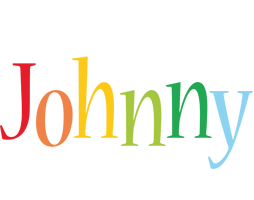 Johnny birthday logo