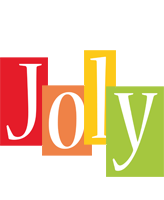 Joly colors logo
