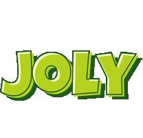 Joly summer logo