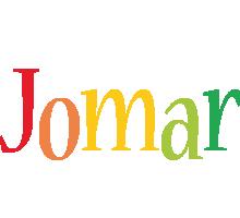 Jomar birthday logo