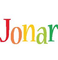 Jonar birthday logo