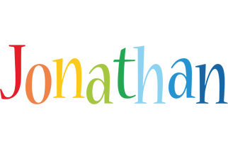 Jonathan birthday logo