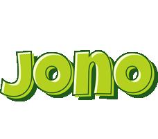 Jono summer logo
