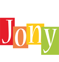 Jony colors logo