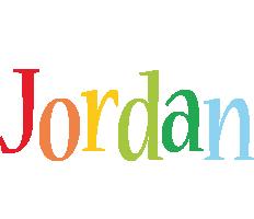 Jordan birthday logo