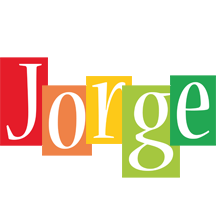 Jorge colors logo