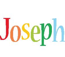 Joseph birthday logo