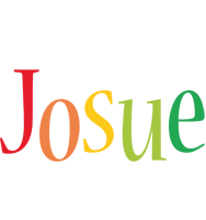 Josue birthday logo