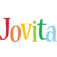 Jovita birthday logo